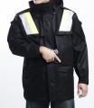 警用裝備 雙色反光短大衣