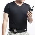 警用裝備 素面排汗V領衫