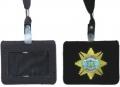 警用裝備 尼龍橫式證件套
