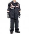 警用裝備 戶外B型 警用防水透氣勤務風衣(紅銀反光帶)